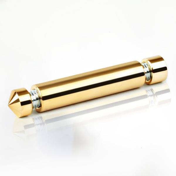 2단 다보볼트 (다리형) 12Ø 금색뿔형 기둥 10cm
